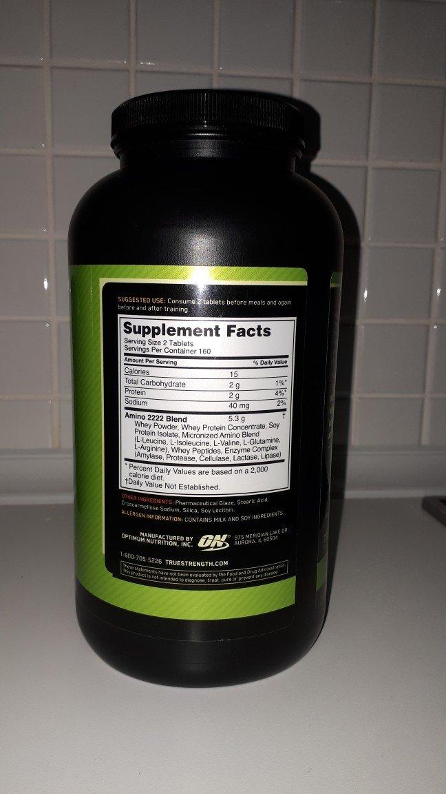 Спортивная питание Аминокислот, Amino 2222tabs , 100% энергии . Photo 1
