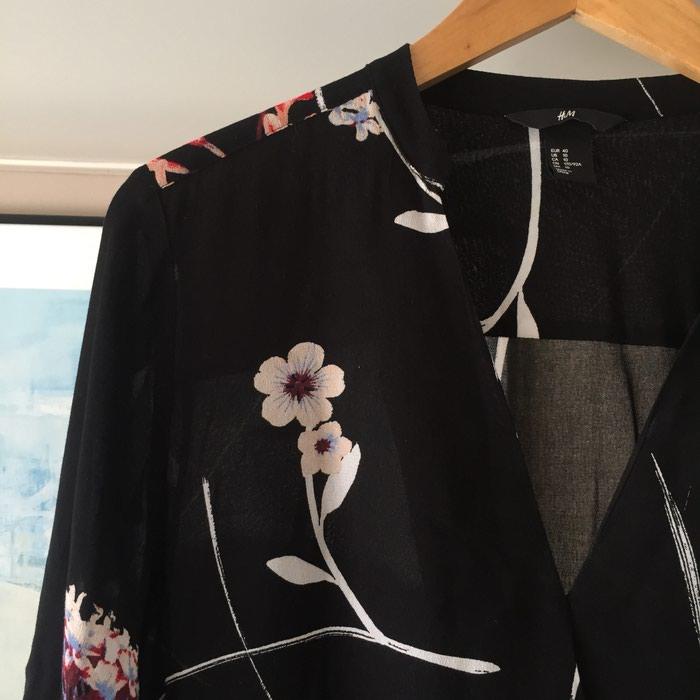 Καινούργιο H&M μαύρο εμπριμέ φόρεμα. Photo 2