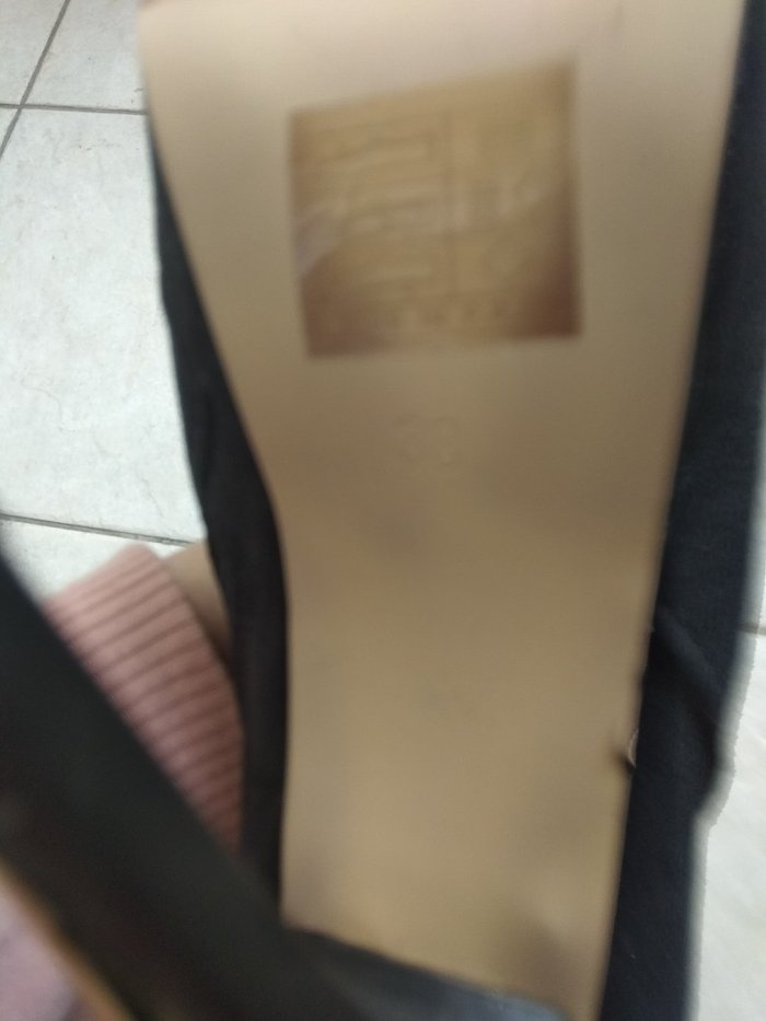 Μπότες. BSB  ελάχιστα φορεμένο δερμάτινο. Photo 4