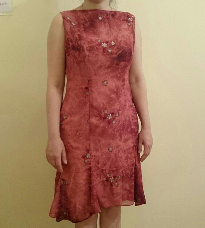 Şifon elbise.Gózel górûnûşe malikdir.Serin saxlayır.36-38. Photo 2