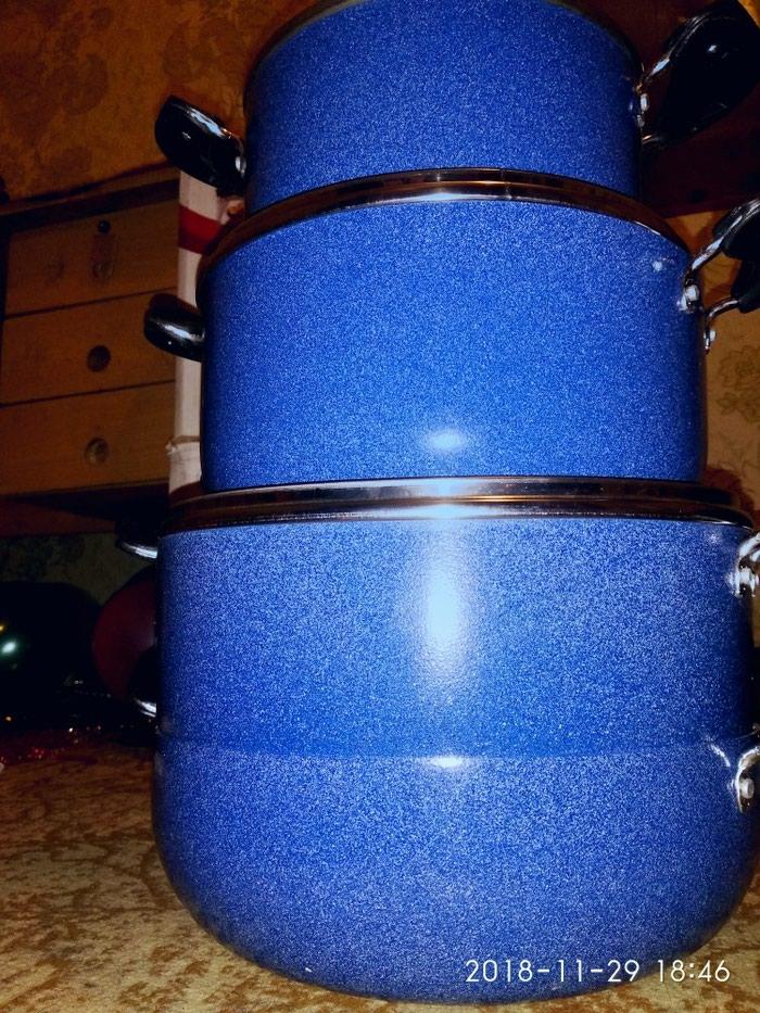 Комплект для кухне керамическая посуда  4 шт  380сом. Photo 6