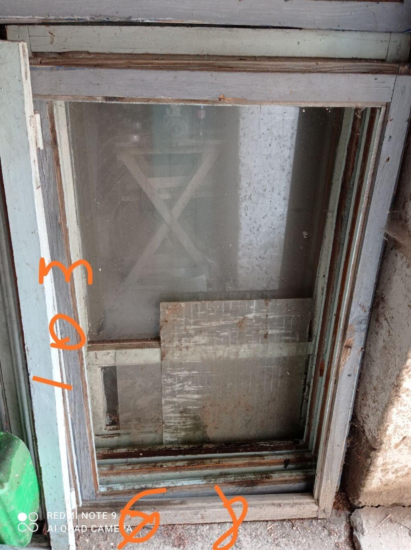 Окна - Токмак: Без стекло. Размеры 103-68