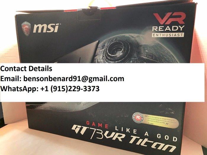MSI GT73VR TITAN SLI GAMING LAPTOP. Photo 2