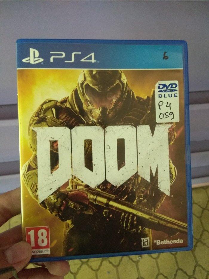 Doom PS4 καινούργιο. Photo 0