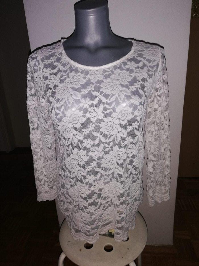 Košulje i bluze - Novi Sad: Amisu bela cipkana nenosena