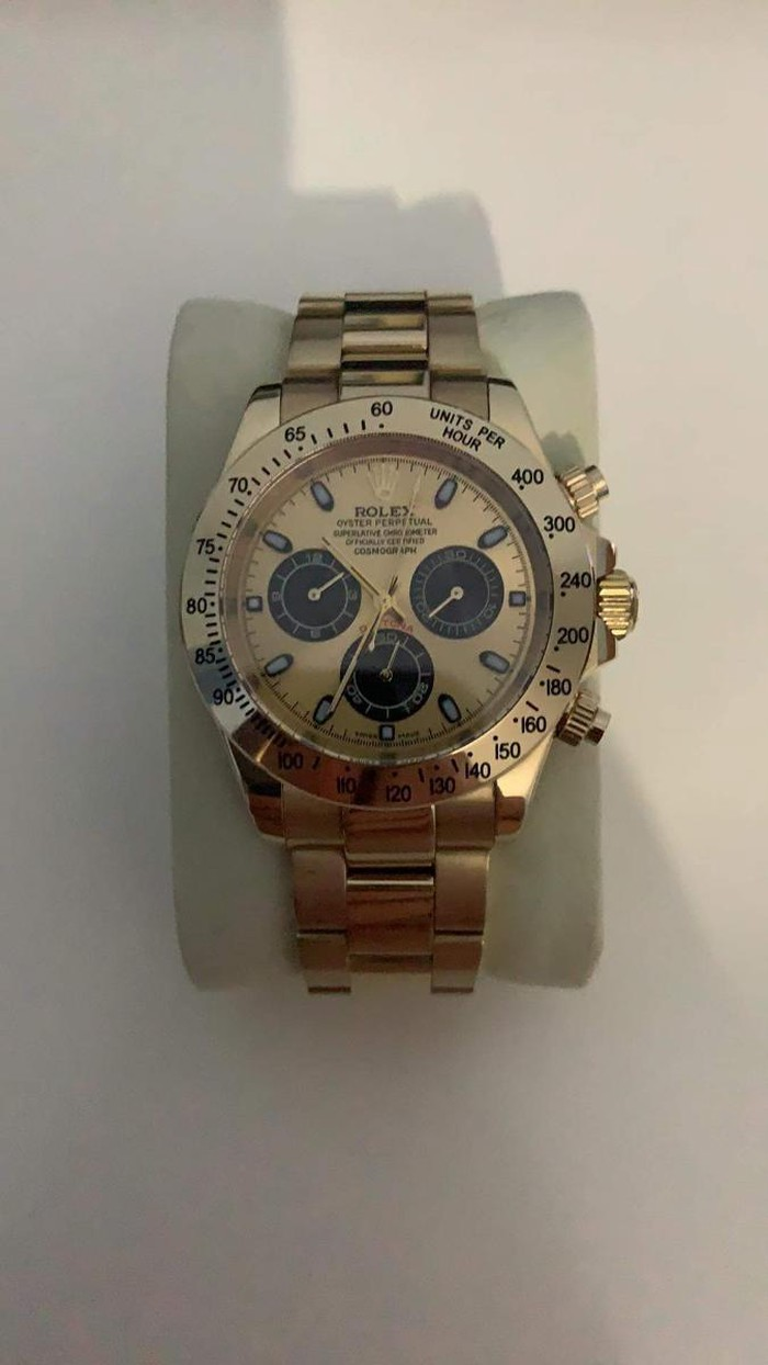Rolex daytona replica  gold
