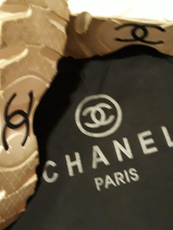 Παπούτσια αθλητικά τύπου Chanel, άριστη κατάσταση, νούμερο 37. Photo 6