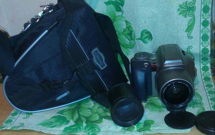 Olympus is 300+obyektiv fotoapparat satılır təzədir.28-110 mm. Photo 0