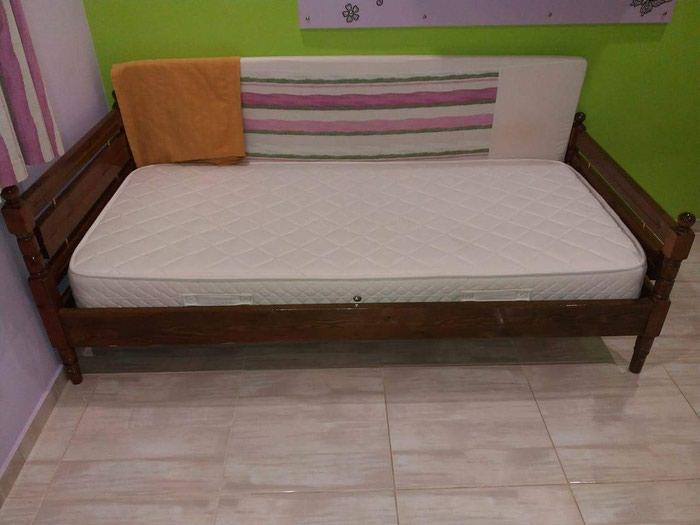 Κρεβάτι μόνο με στρώμα ανατομικό 90χ190. Photo 3
