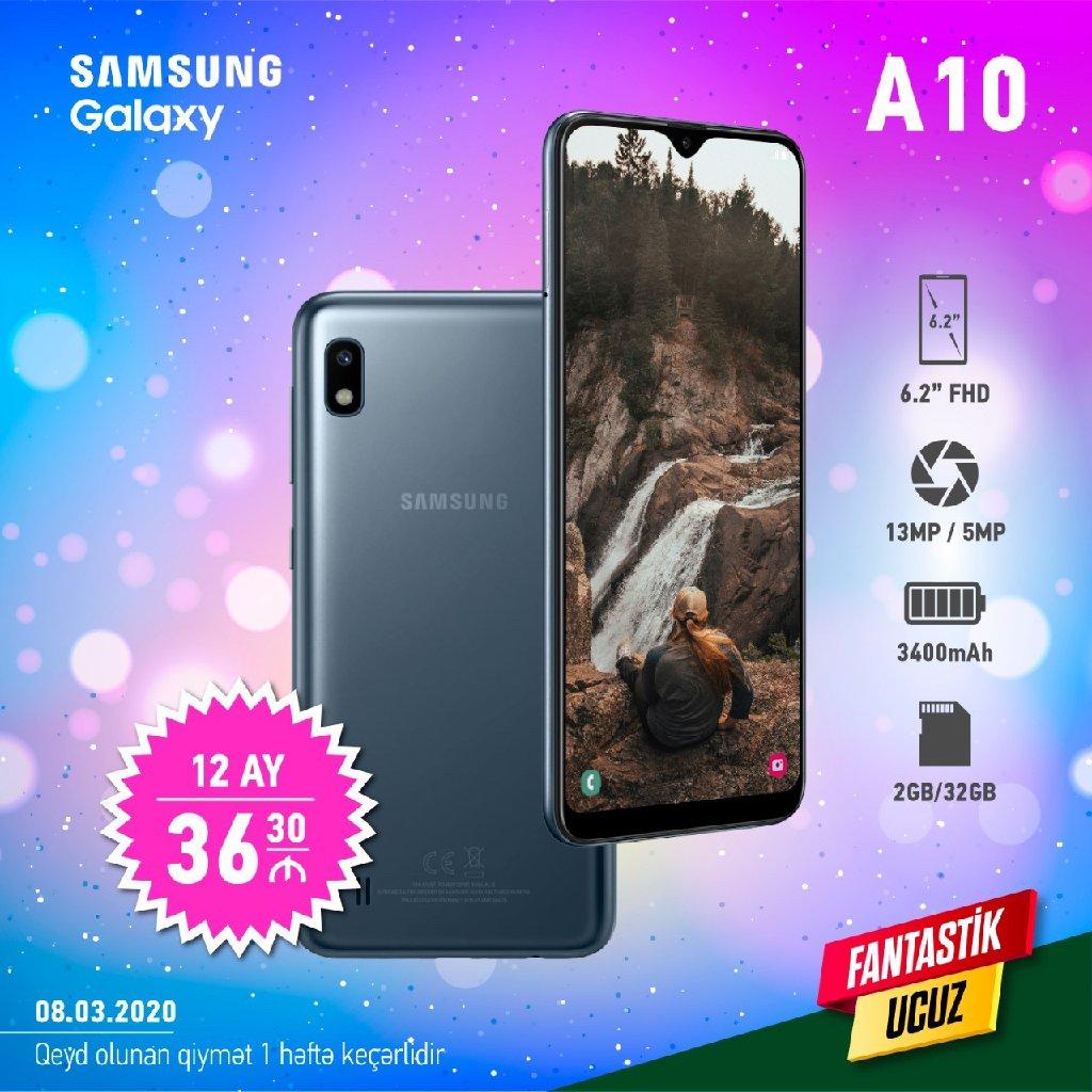 Yeni Samsung A10 32 GB boz