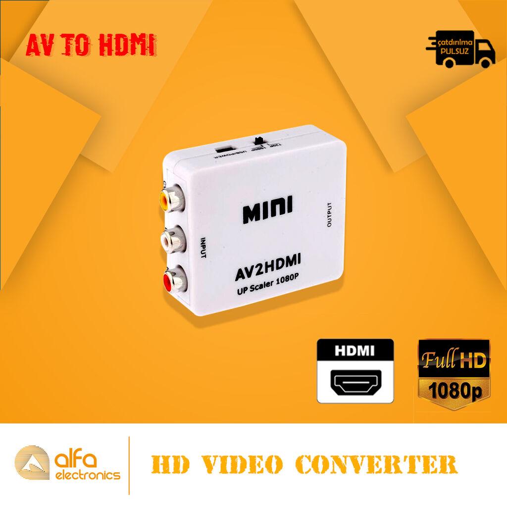 Video yaxud Audionu Digital qurğudan analog qurğuya çevirmək üçün olan: Video yaxud Audionu Digital qurğudan analog qurğuya çevirmək üçün olan