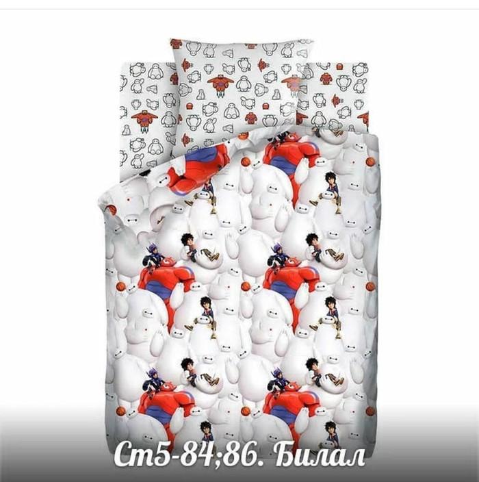 Постельное белье для детей 100% хлопок цена 180 сомон. Photo 4