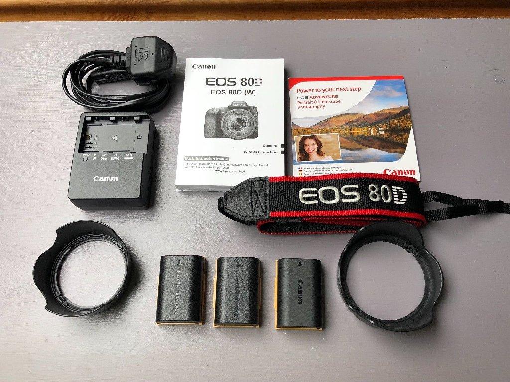 Canon Eos 80D 18 135 mm