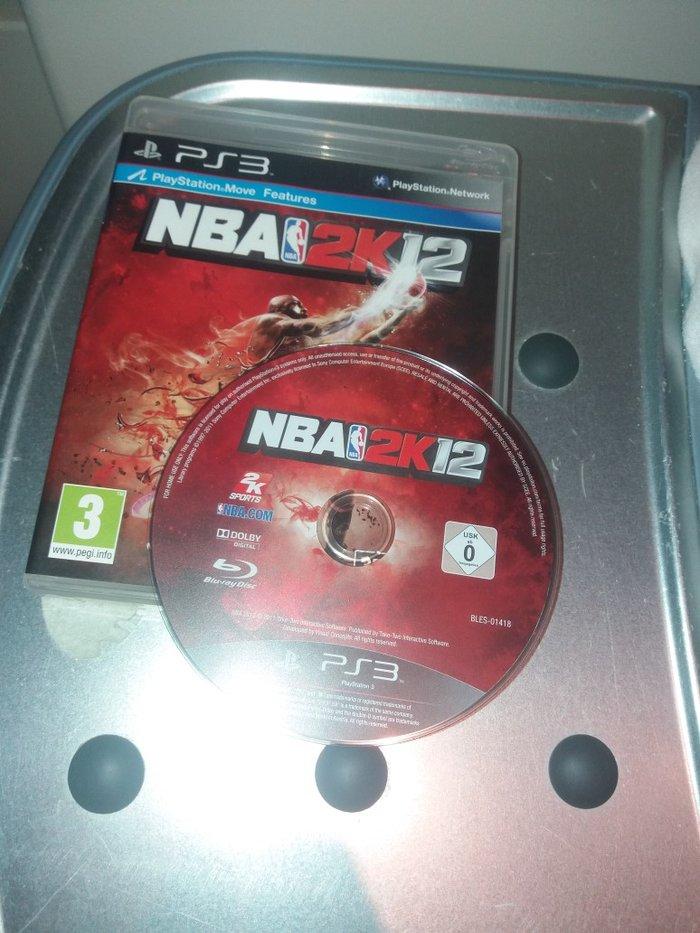 NBA  2K12  κασετα ps3..  Η ΚΑΣΈΤΑ ΒΡΙΣΚΕΤΑΙ ΣΕ ΆΡΙΣΤΗ ΚΑΤΆΣΤΑΣΗ. Photo 0