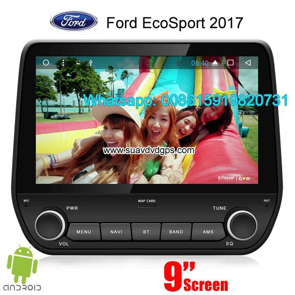 Ford ecosport 2017 radio car android wifi gps navigation camera
