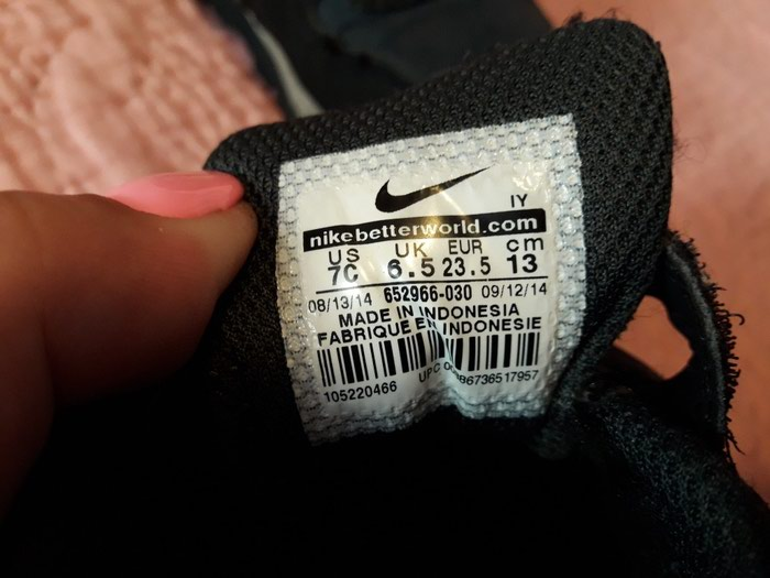 Nike patike broj 23.5 ocuvane kao nove. Photo 4