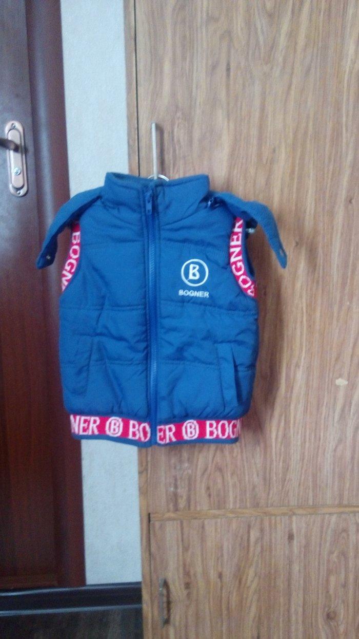 Продаю теплую жилетку. Размер М (примерно 3 года). Цена 300 с. в Бишкек