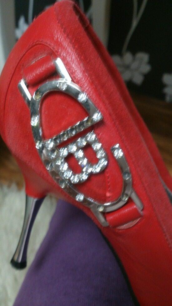 Туфли Laura Biagotti кожаные с замшевые вставками. Photo 5
