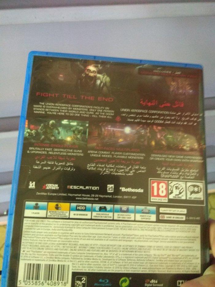 Doom PS4 καινούργιο. Photo 1