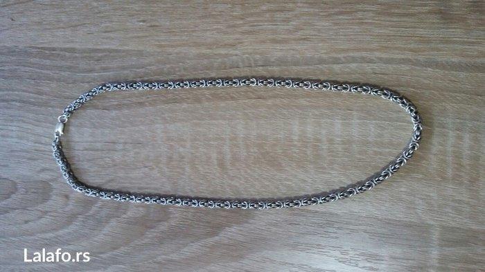 kraljevski rad srebro finoca 925 debljina 5 duzina 55 gramaza 40 - Kragujevac