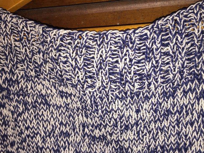 Χειροποίητο αμάνικο cotton ριχτό πλεκτό. Από 100% βαμβακερό νήμα . Τιμ. Photo 2