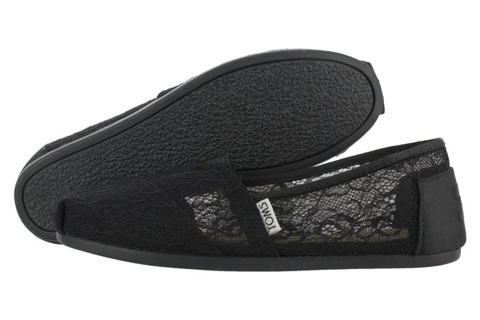 TOMS BLACK LACE no 39 ΑΥΘΕΝΤΙΚΕΣ ΑΦΟΡΕΤΕΣ ΛΑΘΟΣ. Photo 1