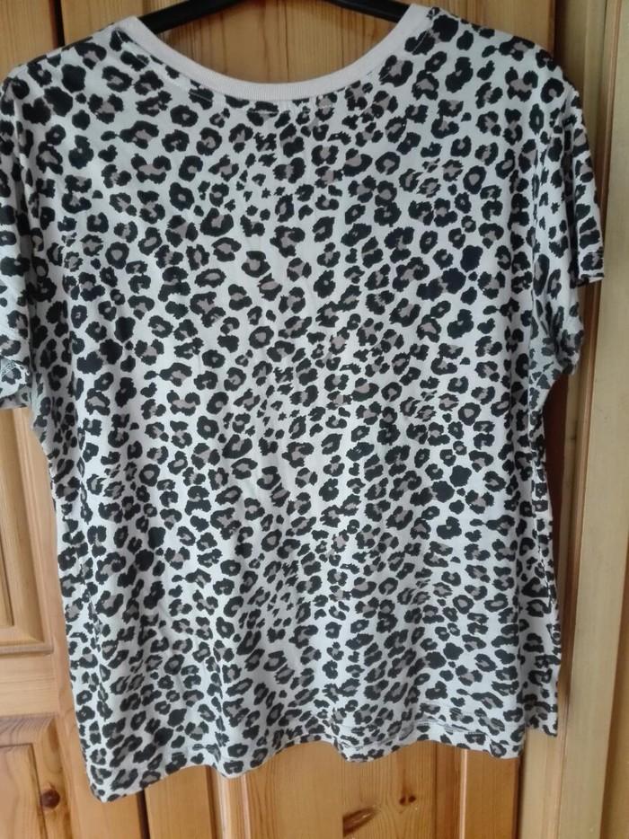 Λεοπαρ καλοκαιρινή μπλούζα νούμερο Μ. Photo 2