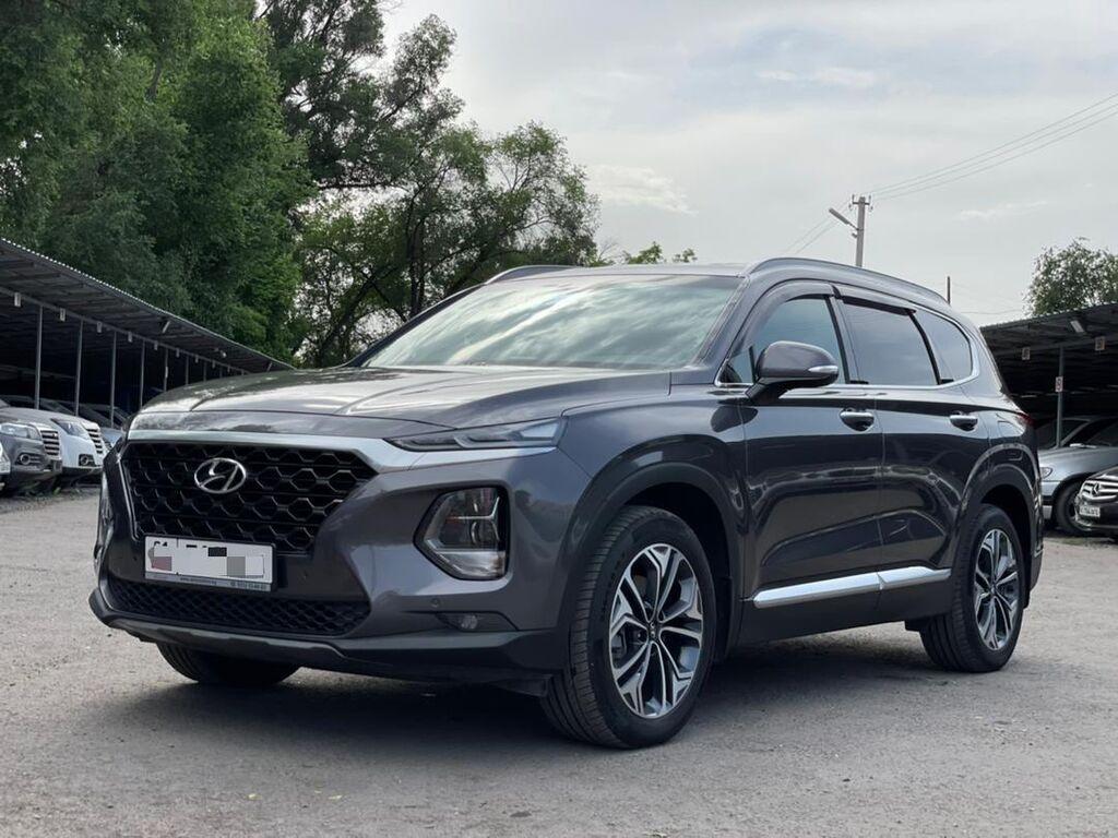Hyundai Santa Fe 2.2 л. 2020   17150 км: Hyundai Santa Fe 2.2 л. 2020   17150 км