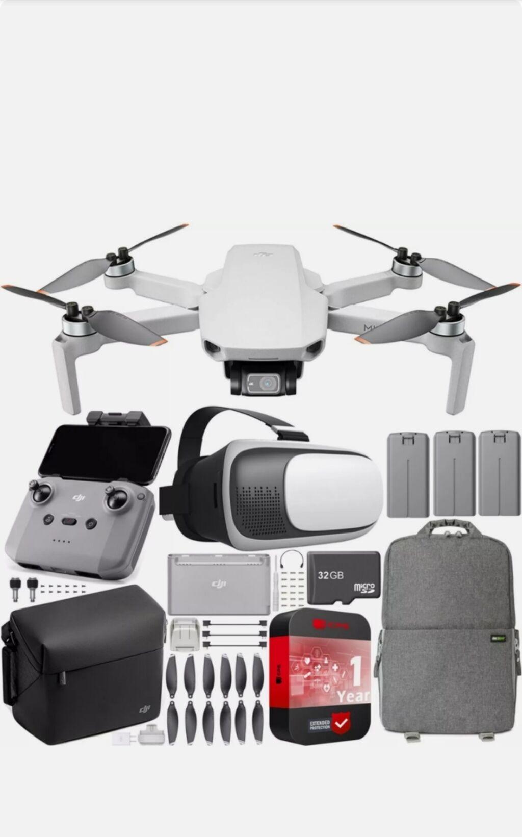 DJI Mini 2 Drone 4K Quadcopter Fly More Combo Полностью, всё что на фо: DJI Mini 2 Drone 4K Quadcopter Fly More Combo Полностью, всё что на фо