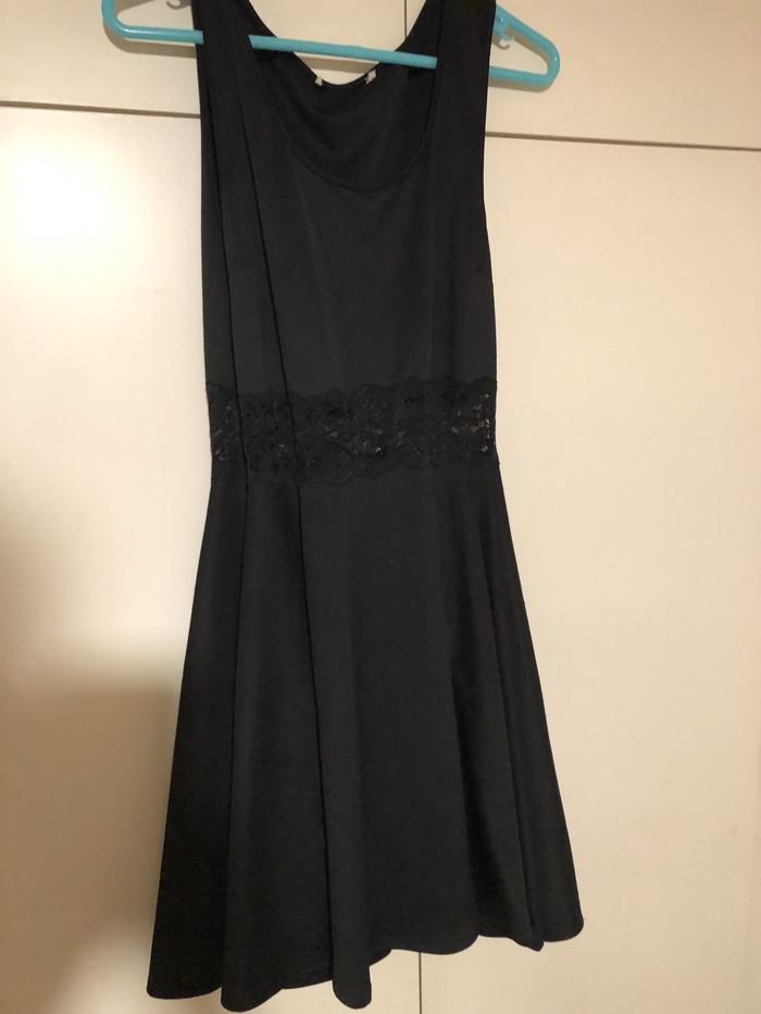 Όμορφο μαύρο φόρεμα για εκδηλώσεις size L! . Photo 0