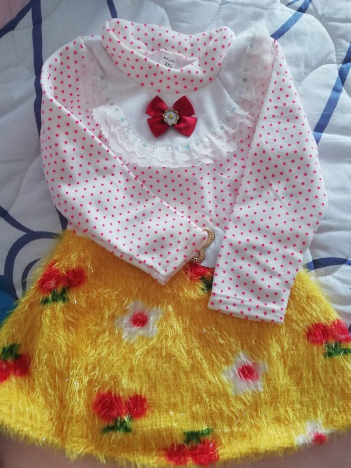 Nova haljinica za devojcice.. 3_4 godine - Sjenica