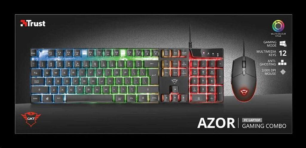 Trust gxt 835 azor mehanicka tastatura