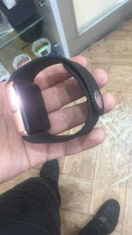Uniseks Qızılı Smart Qol saatları. Photo 1
