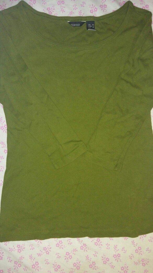 mango μπλουζα m σε πρασινο χρωμα σε Αθήνα