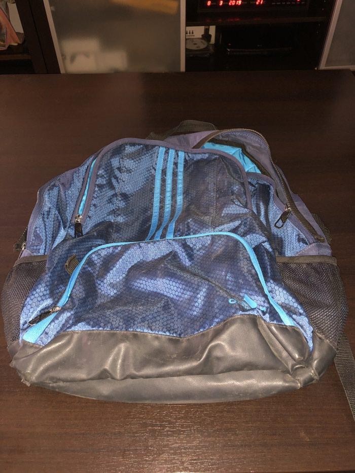 Adidas ranac original. Photo 0
