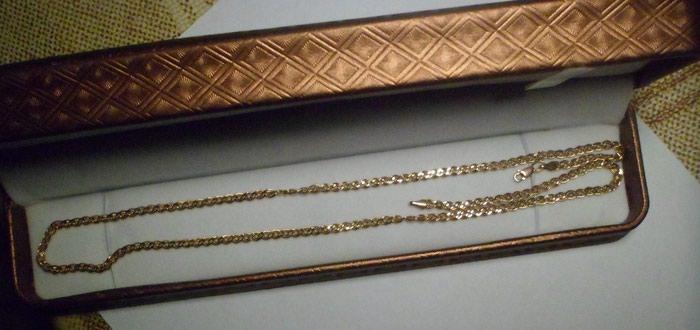 Цепочка золото  российское. пр. -585, гр.-4.88  в Душанбе
