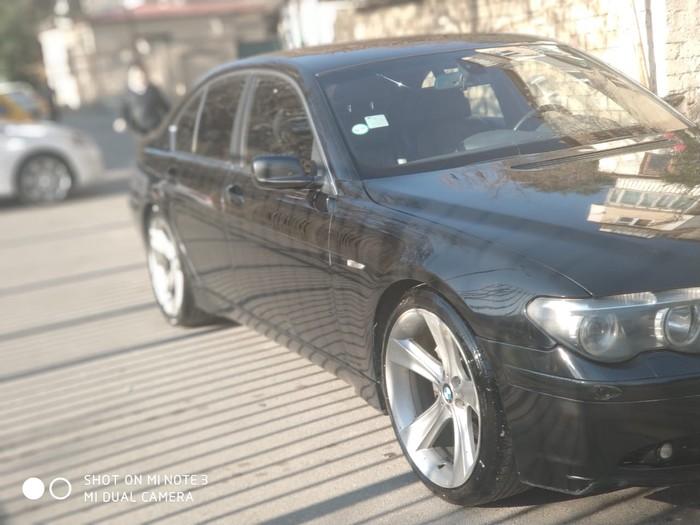BMW 745 2002. Photo 4