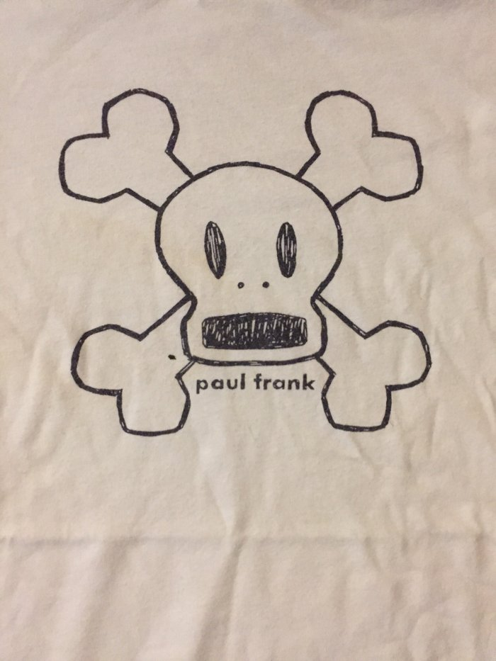 Λευκό βαμβακερό tshirt Paul Frank No small .  Τιμή 7€. Photo 1