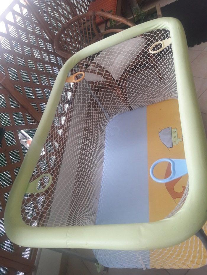 Παρκο παιχνιδιου με λαβες περιμετρικα πτυσσομενο σε αριστη κατασταση. Photo 1