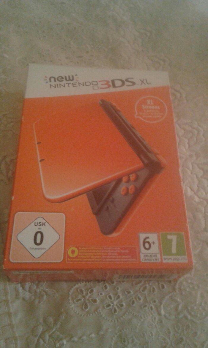 Nitendo 3DS LX NEW ολοκαίνουριο στο κουτί του με πένα και 4 κάσετες Su. Photo 0