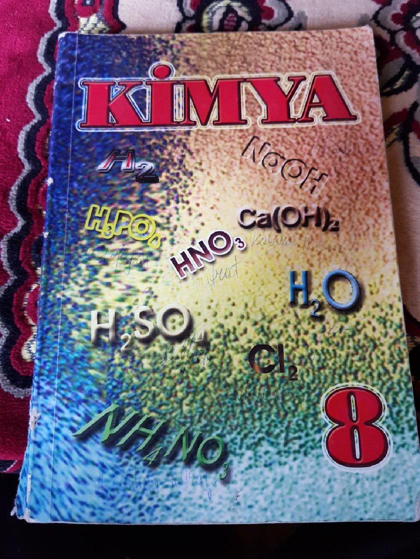 Kimya 8ci sinif dərslik Ünvan:Lənkəran