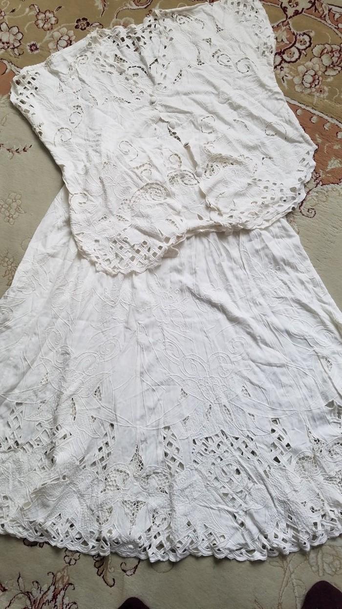 Продам индийский костюм,размер l,(юбка+кофточка),листайте. Photo 3