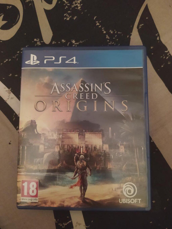 Πωλείται Assassins creed origins χωρίς ουτε μια γρατζουνια , πολύ καλό μεταχειρισμένο , θα μιλησουμε για τον τρόπο παράδοσης με μύνημα!