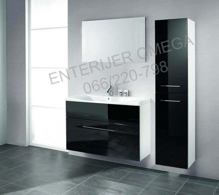 Luksuzni kupatilski set black lux-placanje na rate - Leskovac