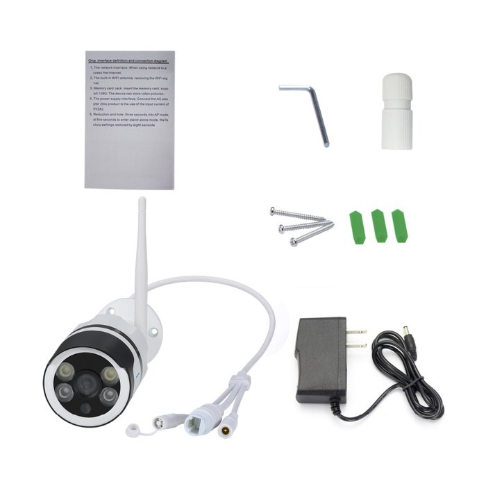 Escam qf508 HD 1080 P Simsiz WIFI IP Kamera Outdoor IP66 Suya davamlı. Photo 4