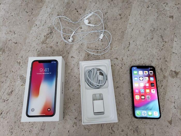 Apple iPhone X - 256GB - Χώρος Γκρι. Photo 0