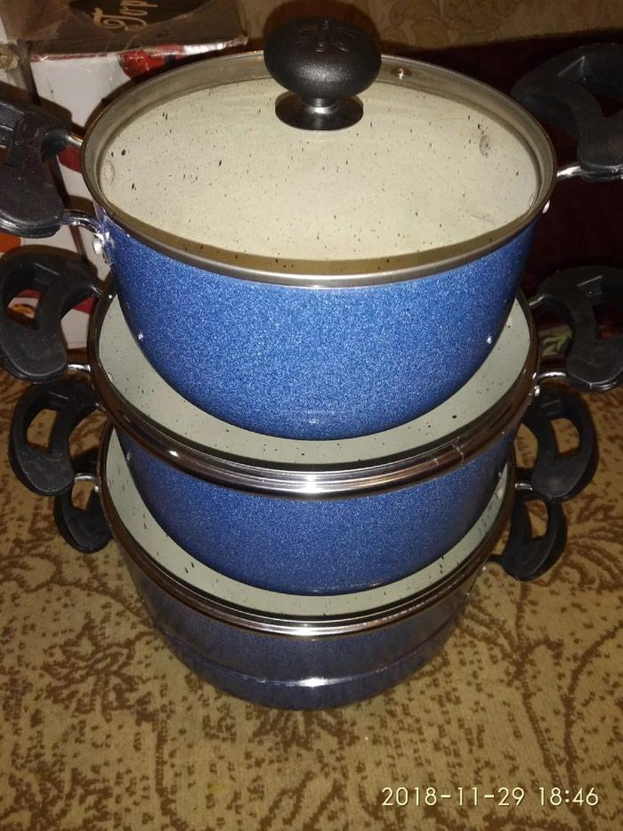 Комплект для кухне керамическая посуда  4 шт  380сом. Photo 3
