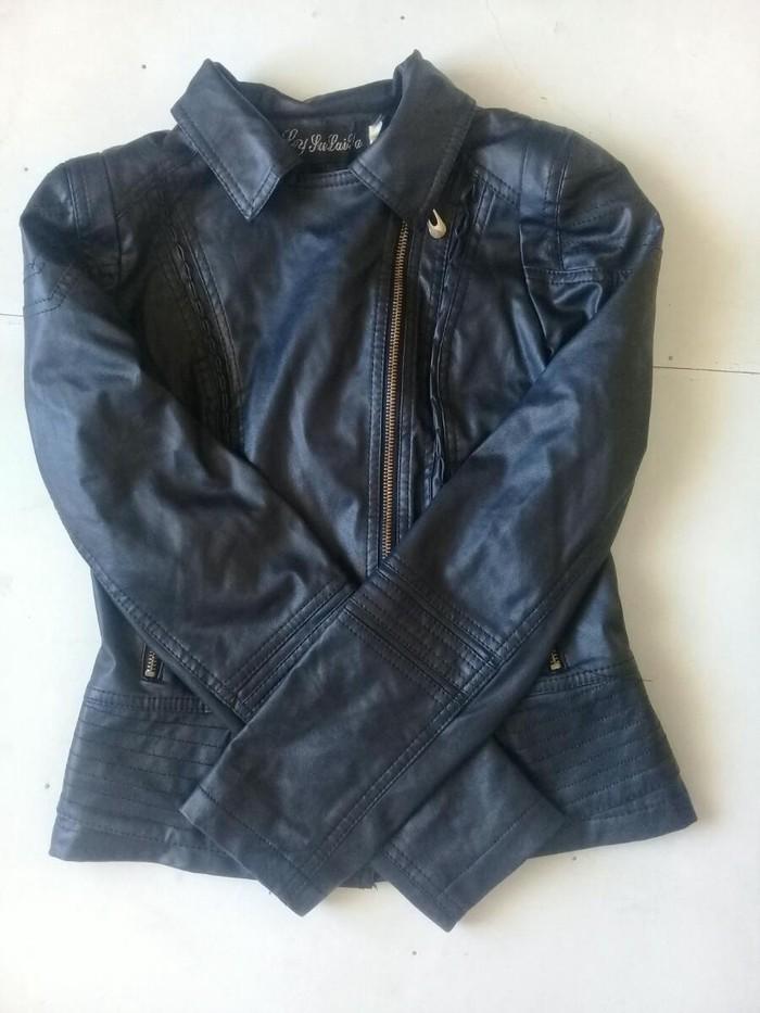 Кожаная курточка 500 с 44 р. Photo 0