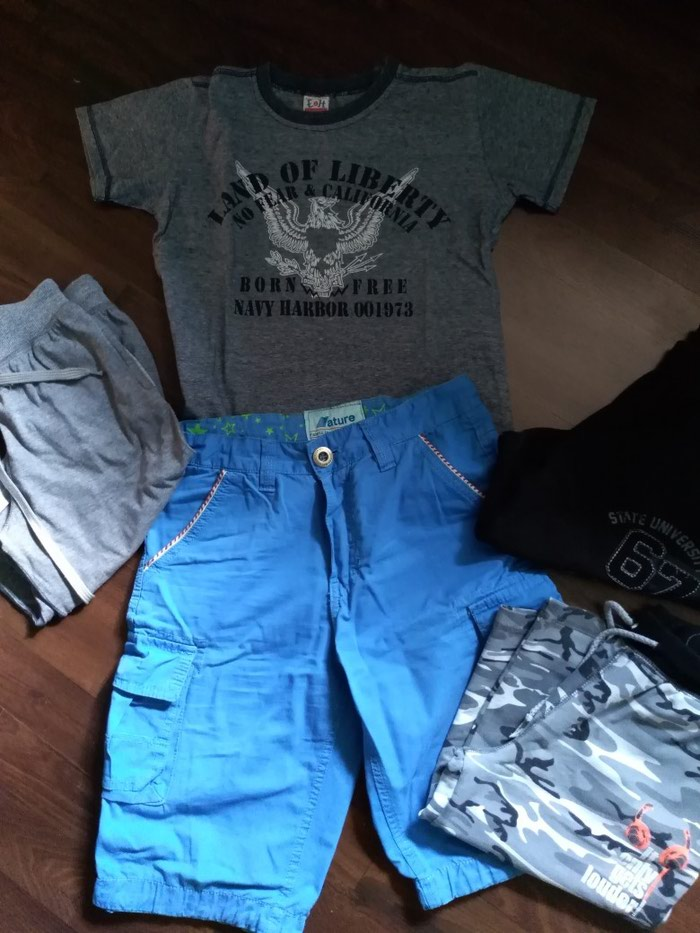 Paket dobro očuvane garderobe za dečaka. Veličina 10.. Photo 0