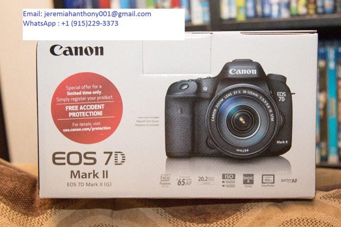 Ολοκαίνουργιος φακός Canon EOS 7D Mark II +. Photo 0